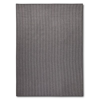 """Maples Striped Accent Rug - Grey(2'6""""x3'10"""")"""