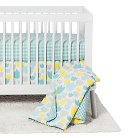 Babyletto 5pc Crib Bedding Set - Tulip Garden