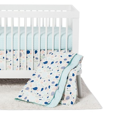 Babyletto 5pc Crib Bedding Set - Fleeting Flora