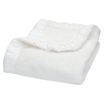 Trend Lab Receiving Blanket - White