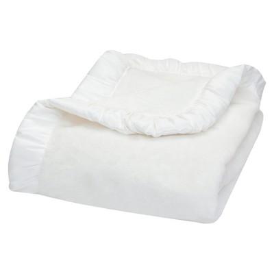 Trend Lab Receiving Blanket - White