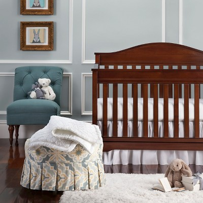 Trend Lab 3pc Crib Bedding Set – Marshmallow