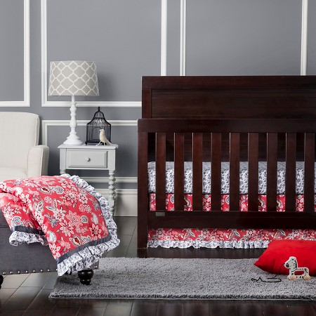 waverly baby by trend lab 3pc crib bedding set charismatic target