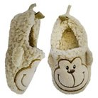 Toddler Monkey Bootie Slippers - Brown
