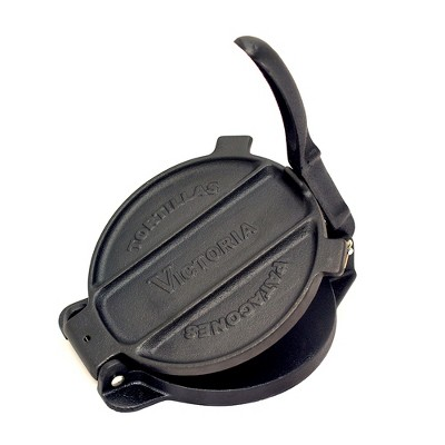 Victoria Cast Iron Tortilla Press - 6.5""