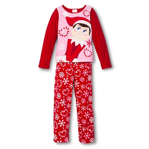 Elf Fleece Pajama Red