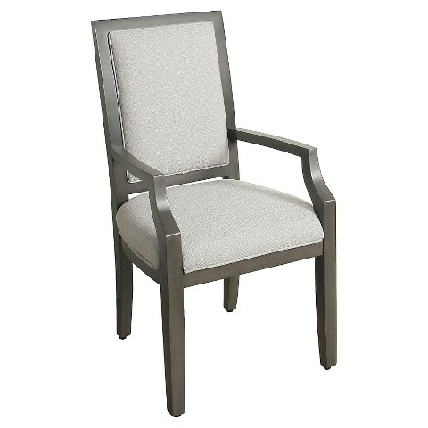 morris square back dining chair with arms product details page