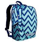 Wildkin Zigzag Lucite Comfort Backpack - Blue