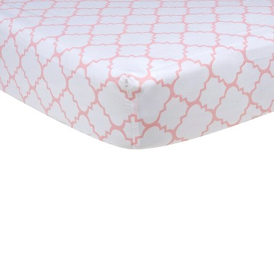 Ecom Baby Fitted Sheet Trend Lab White