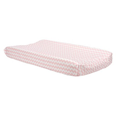 Trend Lab Changing Pad Covers - Pink Chevron