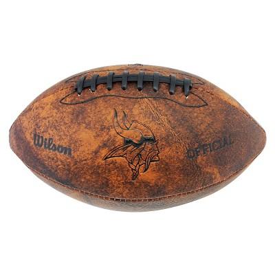 NFL 11in Throwback Football - Minnesota Vikings