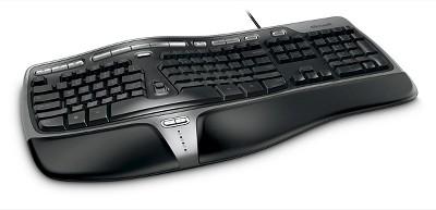 Microsoft Natural Ergonomic Keyboard 4000 - Black (B2M-00012)