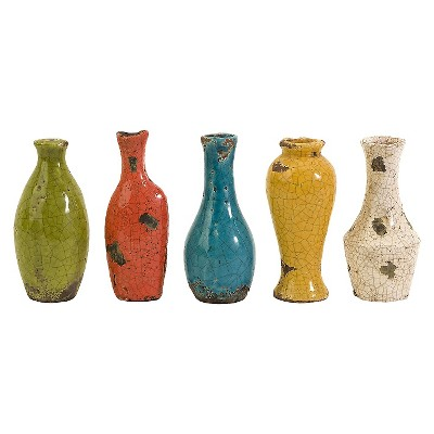 Mercade Mini Vases - Set of 5