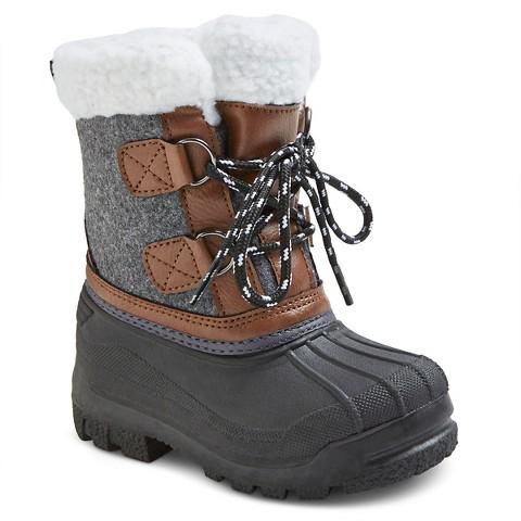 Toddler Boys Winter Boots Cherokee Target