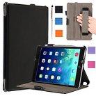 i-Blason iPadMini2-Heated-Black New iPad Mini Smart Cover Slim Folio - Black