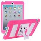 i-Blason ArmorBox Stand Convertible Hybrid Kick Stand Case for iPad Mini - Pink
