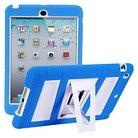 i-Blason ArmorBox Stand Convertible Hybrid Kick Stand Case for iPad Mini - Blue