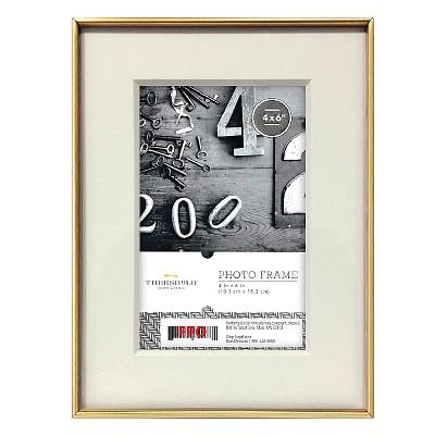 Metal Frame - Gold - 4x6 - Threshold™