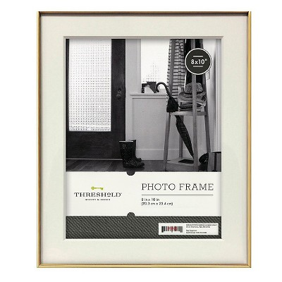 Metal Frame - Gold - 8x10 - Threshold™
