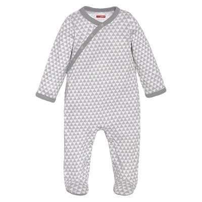 Skip Hop Newborn Long-sleeve Side-Snap - Grey 6 M