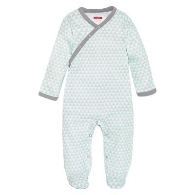 Skip Hop Newborn Boys' Long-sleeve Side-Snap - Blue 6 M