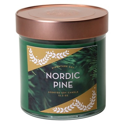 Signature Soy Nordic Pine 15.2 oz. Container Candle