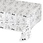 """Spritz Table cover - Storybook Color-In - 54"""" x 96"""""""
