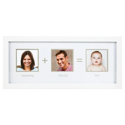 "Pearhead ""Mommy+Daddy=Me"" Picture Frame"