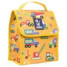 "Wildkin 16"" Olive Kids Under Construction Munch ""n Lunch Bag - Yellow"