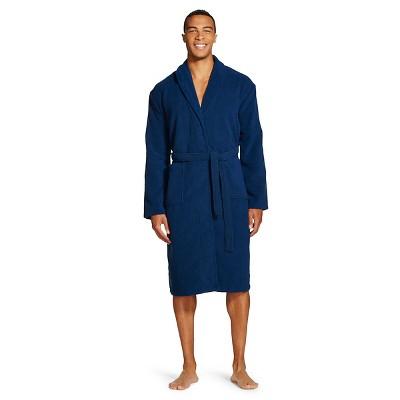 Hotel SPA® Men's Plush Robe Navy - XL/XXL - Hotel SPA
