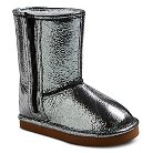 COVERGIRL Toddler Girl's Metallic Shearling Boots