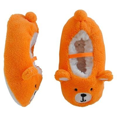 Boys' Bootie Slippers Orange 2T/3T - Circo™