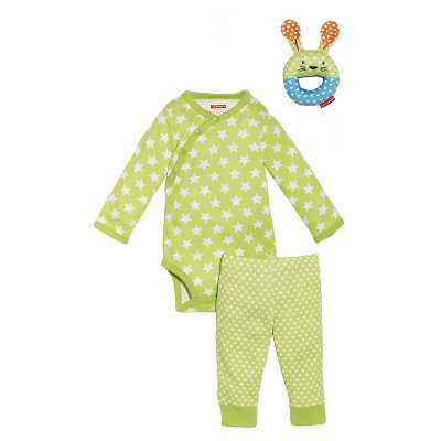 Skip Hop Newborn 3pc Gift Set - Green 3 M