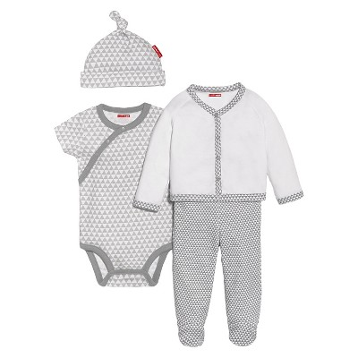 Skip Hop Newborn 4pc Welcome Home Set - Grey 3 M