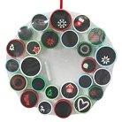 Threshold Chalkboard Advent Calendar Wreath