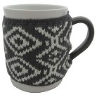 Threshold™ 1-pc. coffee mugs with grey pattern sweater.(12oz)