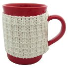 Threshold™ 1-pc. coffee mugs with white pattern sweater. (12oz)
