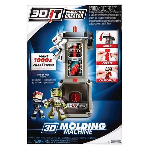 3d it character molding machine