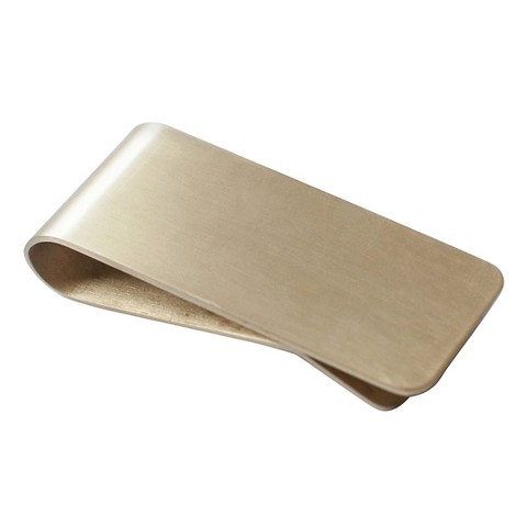 Izola - Brass Money Clip