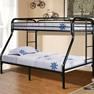 Bunk Bed Metal/Black (Twin over Full) - Powell Company