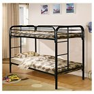 Bunk Bed Metal/Black (Twin over Twin) - Powell Company