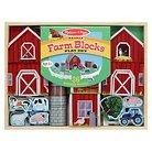 Melissa & Doug Farm Blocks Play Set