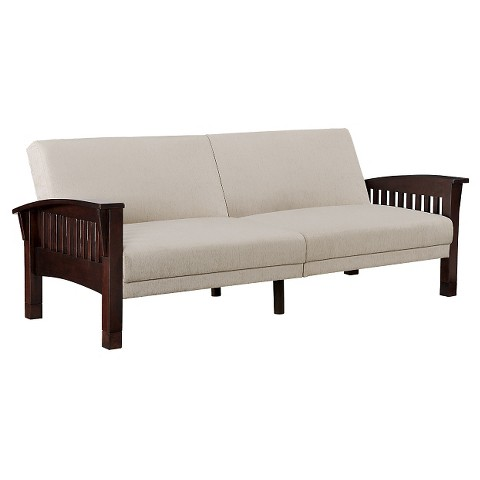 Dorel home products compton sofa sleeper tan product details page