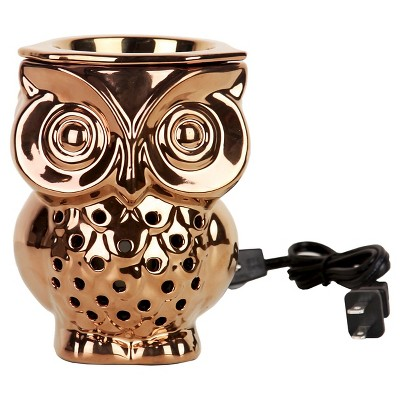 Bronze Owl Warmer