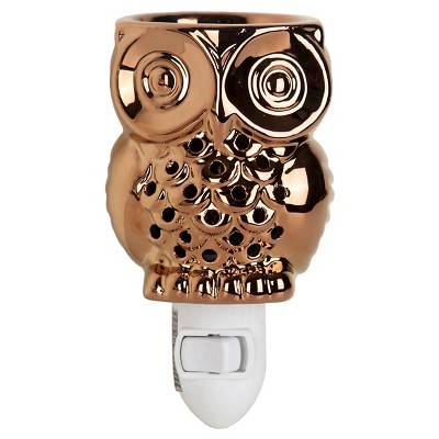 Bronze Owl Plug In Warmer