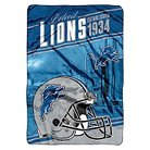NFL Bed Blanket Lions - Multi-Colored (Twin)