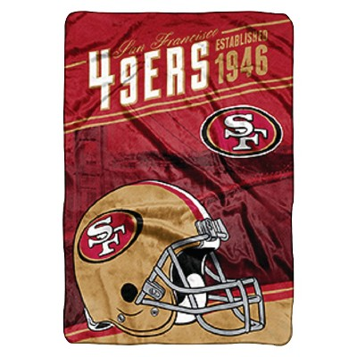NFL Bed Blanket 49Ers - Multi-Colored (Twin)