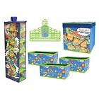 Nickelodeon Teenage Mutant Ninja Turtle 10 Piece Closet Organization Set - Multi-Colored