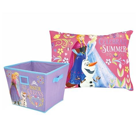 Disney Frozen 2 Piece Bedroom Set with Storage Tar