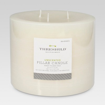 Threshold Fragrance Free Cream 4x5 Candle
